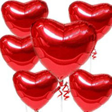 Heart-shaped Balloons | Tolemac's Metaphysical Blog